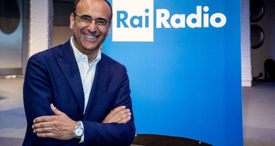 Carlo Conti:  «Confermati quasi tutti i programmi radio. Mio compito suggerire e coordinare».