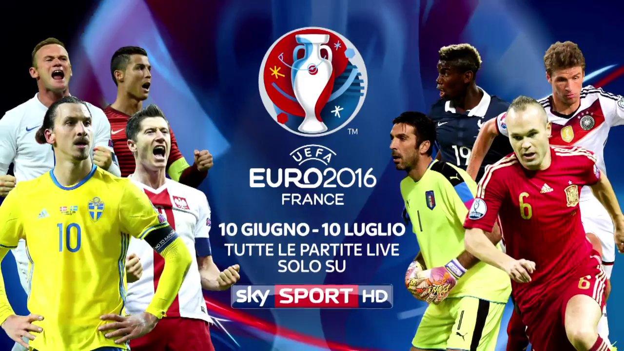 #SkyEuro2016 è arrivato! Per la prima volta (e al completo) solo su Sky Sport HD
