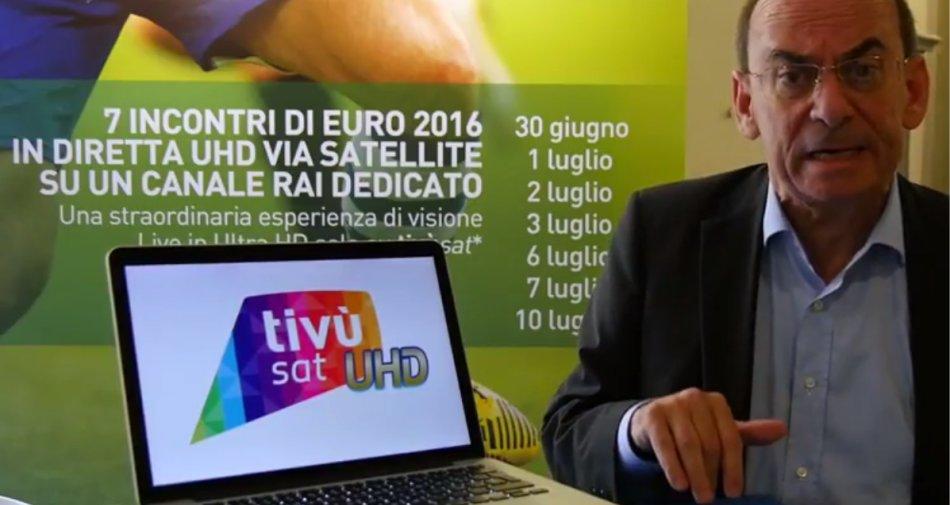 Al Forum Digitale di Lucca 2016 presentato il nuovo marchio Ultra HD di tivùsat
