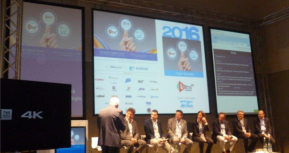 Focus - 13 Forum Europeo Digitale Lucca: la Tv non è morta e gode di ottima salute