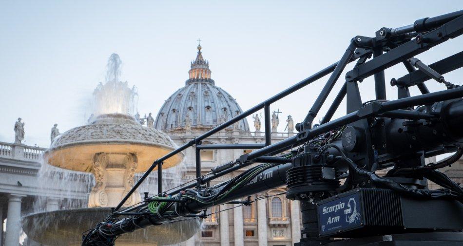 San Pietro e le Basiliche Papali di Roma 3D, stasera in prima tv su Sky Arte, Sky Cinema e Sky 3D