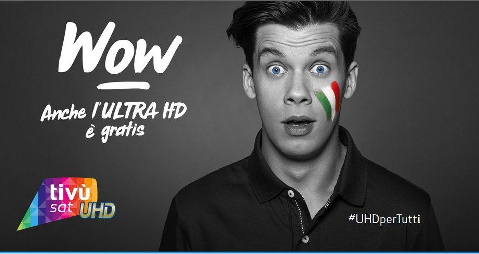 Euro 2016: Eutelsat e RaiSport pronti per la diretta di 7 partite in Ultra HD 4K su TivùSat