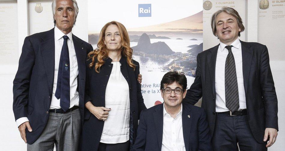 #RaiRio2016, il racconto da Rio di Olimpiadi e Paraolimpiadi su Rai Sport in tv, nel web e sui social
