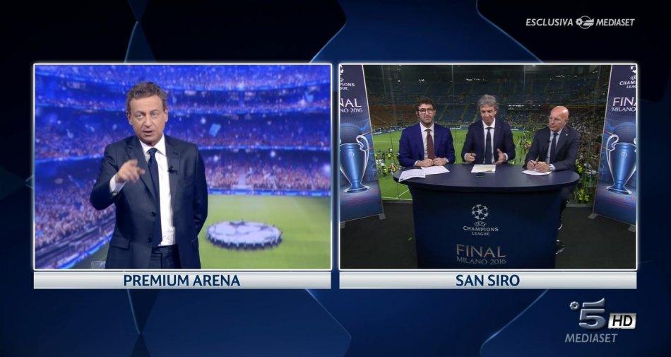 Champions League, Mediaset annuncia una italiana ogni giornata in chiaro su Canale 5