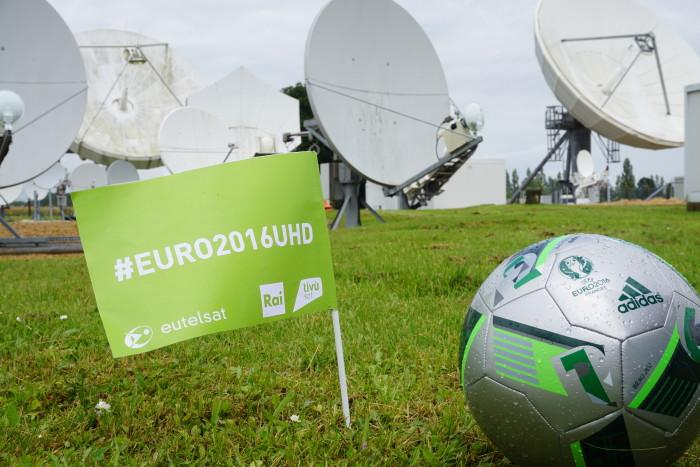 Eutelsat: con Euro 2016 vince la nuova TV in diretta Ultra HD 4K