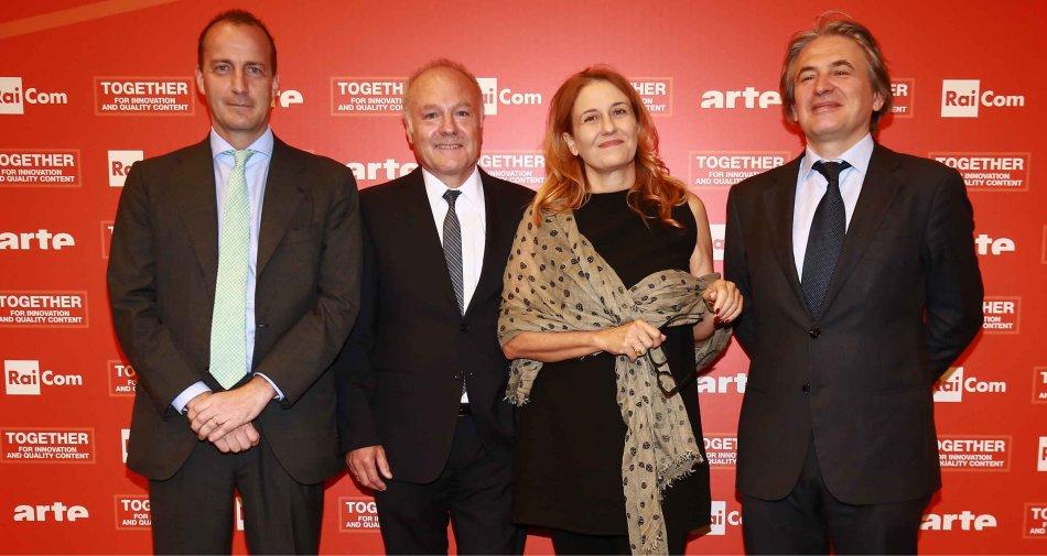 Rai Com, siglato accordo quadro con la franco-tedesca Arte per co-produzioni