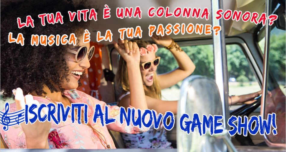 Singing in the Car, arriva in autunno in prima visione esclusiva su Tv8 con Lodovica Comello