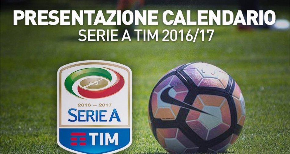 Serie A 2016/2017, il calendario in diretta su Sky Sport, Premium Sport, Serie A TV (Youtube e App)