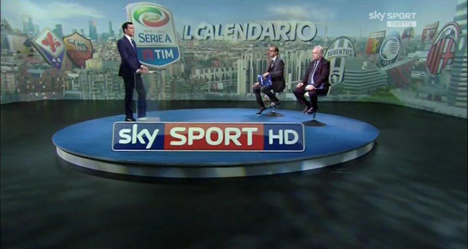 E'nata la Serie A 2016/2017 con 132 partite solo su Sky Sport, almeno 3 esclusive a weekend