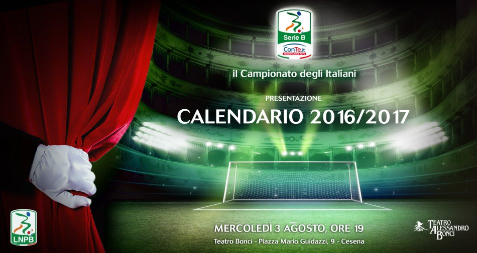 Calendario Serieb.Calendario Serie B 2016 2017 Diretta Video Streaming Alle