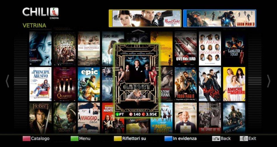 Vodafone Italia e CHILI: migliaia di film presto disponibili sulla Vodafone TV