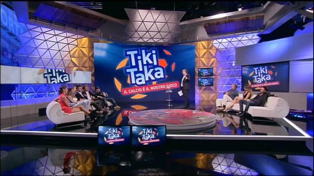 Torna su Italia 1 Tiki Taka - Il Calcio è il nostro gioco con la novità del pubblico in studio