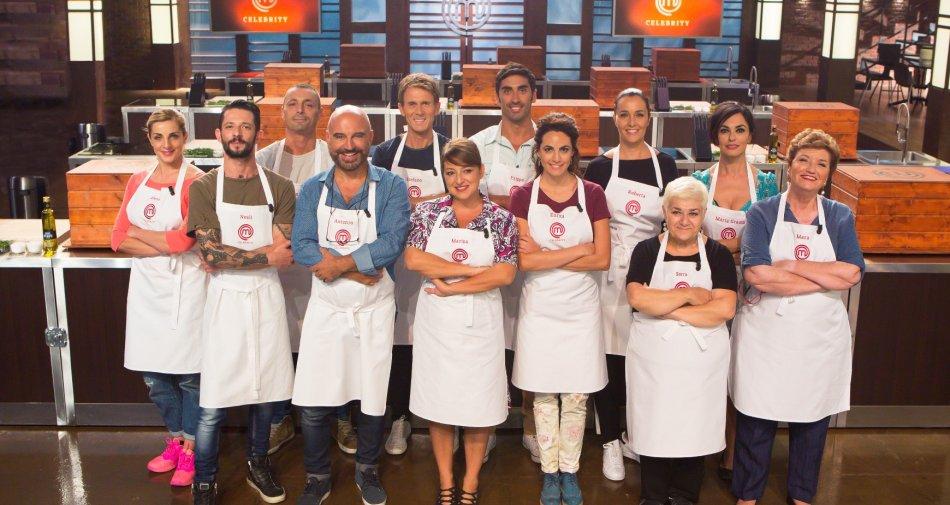 Celebrity MasterChef, in primavera 12 celebrità nello spin-off del cooking show di Sky Uno
