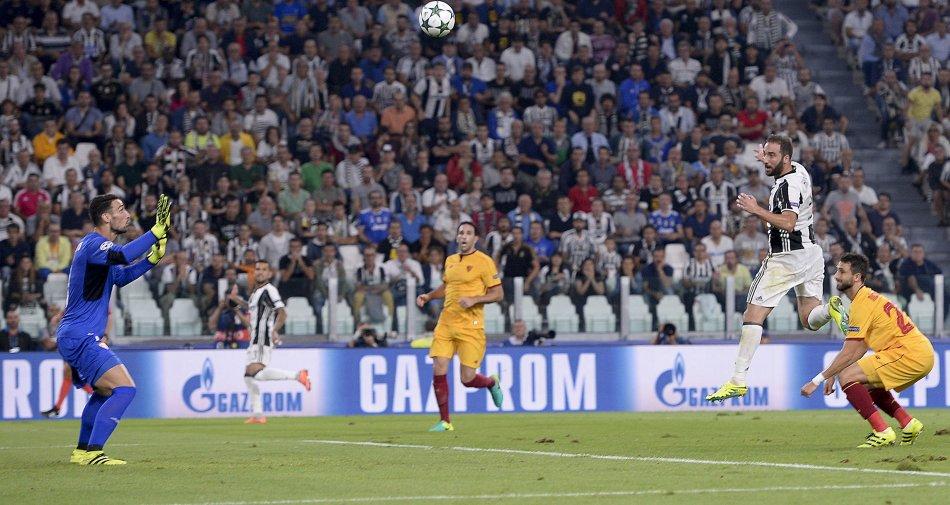 Premium Sport HD, ascolti da record per Juventus-Siviglia, match più visto della fase a gironi