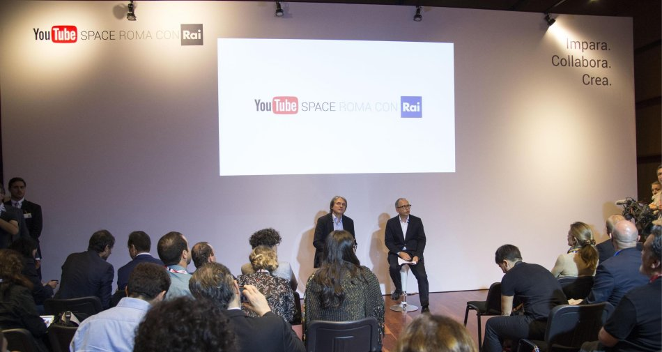#YouTubeConRAI, per la prima volta arriva lo YouTube Pop Up Space Italiano