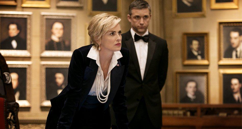 Agent X, Sharon Stone vicepresidente Usa in prima tv su Premium Action HD