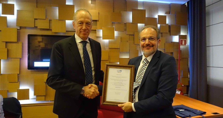 HD Forum Italia nomina membro onorario Stefano D'Agostini, direttore del Centro Televisivo Vaticano