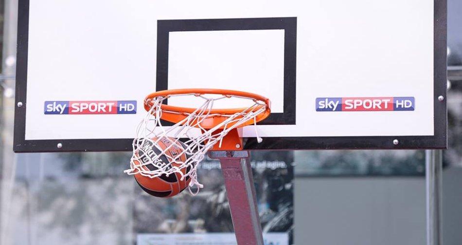 La stagione di Basket su Sky Sport e Fox Sports, oltre 1000 occasioni per emozionarsi
