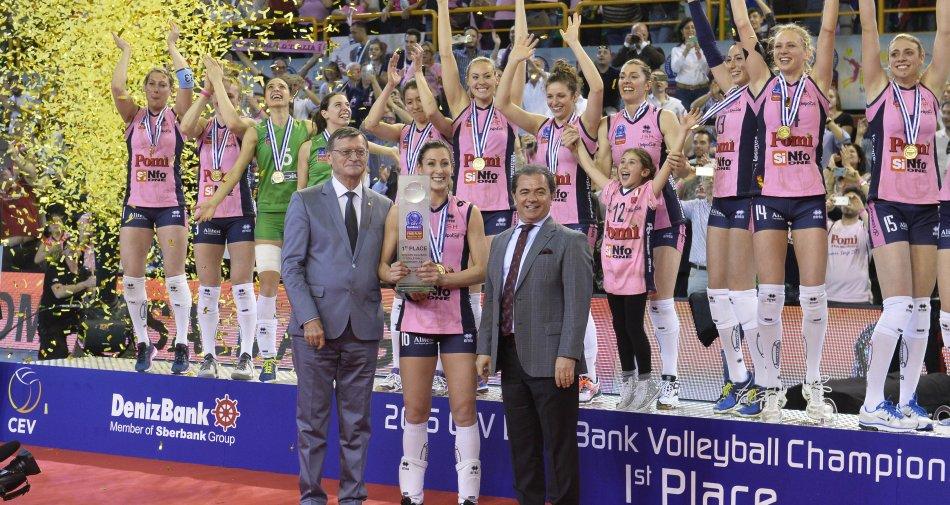 Volley, il Mondiale per Club: maschile (Trento, Fox Sports) e femminile (Casalmaggiore, Rai Sport)