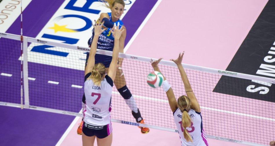 Sportitalia acquisisce i diritti della Champions di Volley femminile (in esclusiva su 60 DTT e 225 Sky)