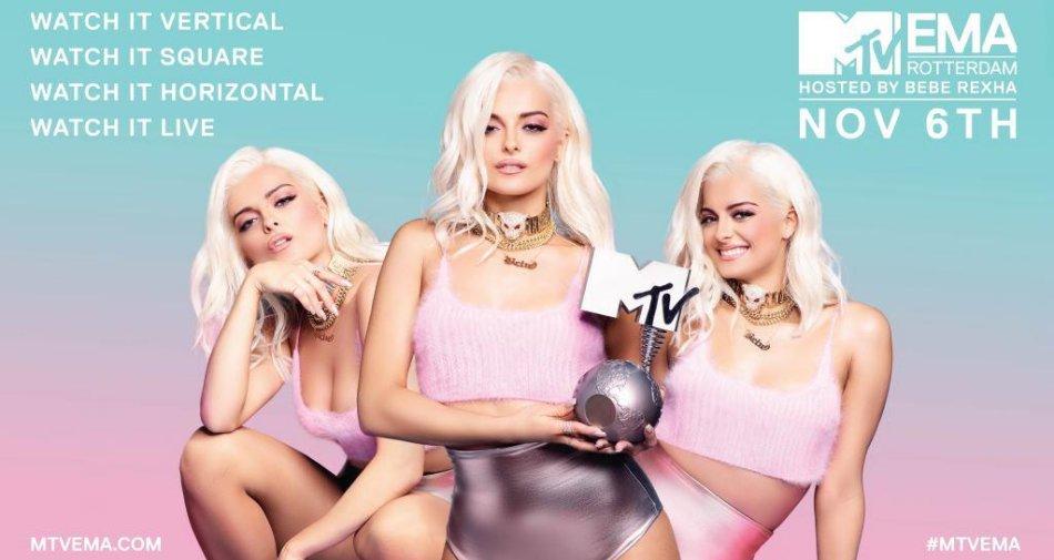 MTV EMAs 2016, in diretta e in esclusiva su MTV (133 Sky) e MTV Music (708 Sky)