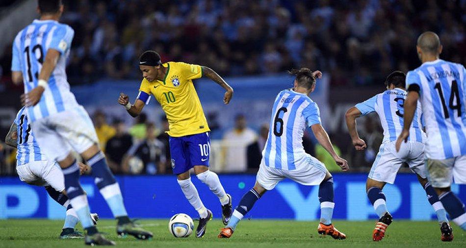 Road to Russia 2018, Brasile vs Argentina (diretta Sky Sport 3 HD e Sky Sport Mix HD)