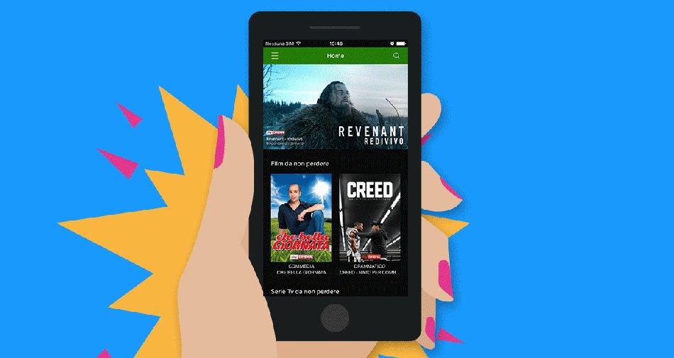 Su ITunes  la nuova app Now TV dedicata ai clienti con smartphone Apple