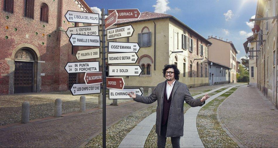 Alessandro Borghese lancia la sfida ad altri 40 ristoranti da stasera su Sky Uno HD
