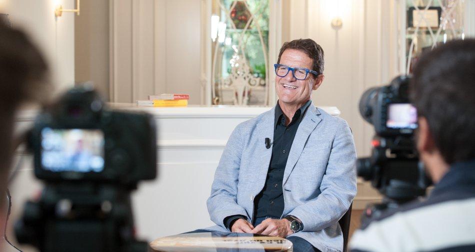 Collezione Capello, su Fox Sports il mister ricorda il passato e intervista i grandi allenatori