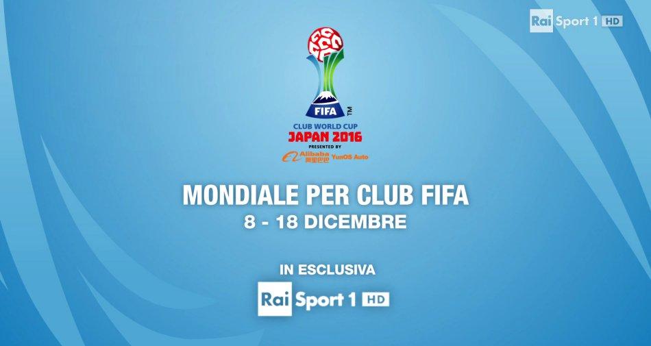Mondiale per Club, Fifa Club World Cup 2016 in diretta esclusiva su Rai Sport HD