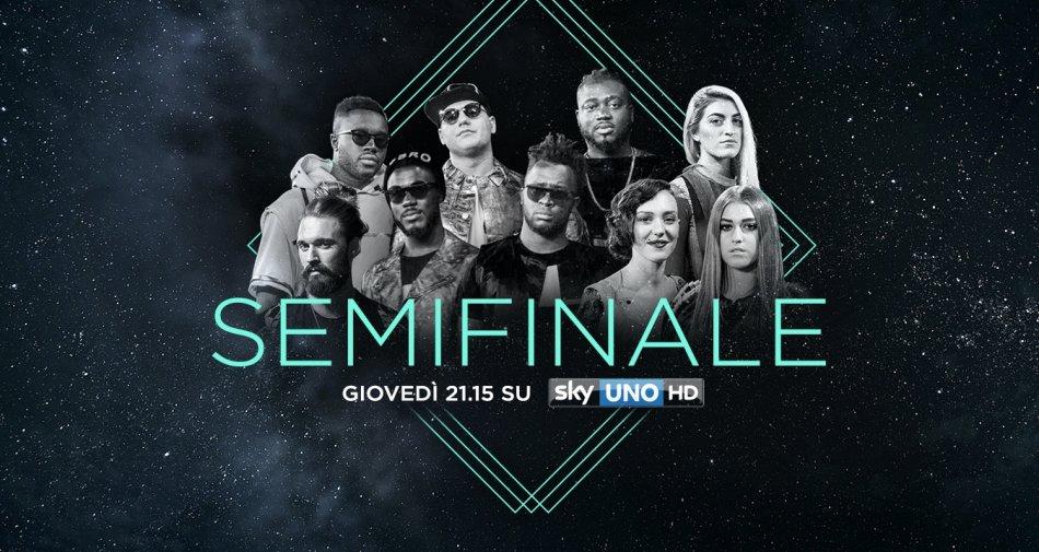 #XF10, stasera la semifinale con gli inediti in diretta su Sky Uno (anche su Now Tv)