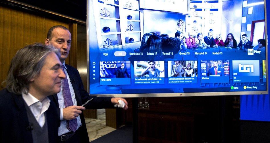 RaiPlay nel mondo dei televisori connessi. Rai rafforza il suo progetto di evoluzione