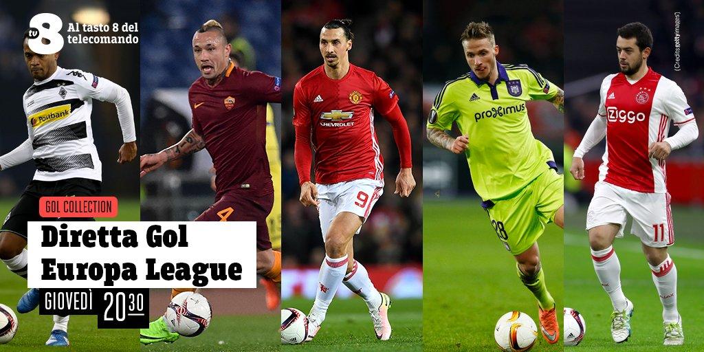 Diretta Gol Europa League Domani Su Tv8 In Esclusiva Sky La Diretta Roma Lione Digital News