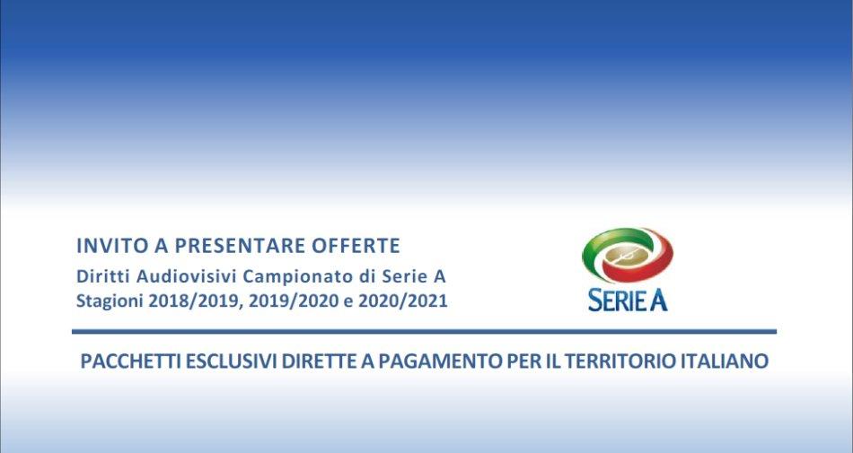 Serie A, pubblicato Invito a Presentare offerte diritti audiovisivi 2018 - 2021