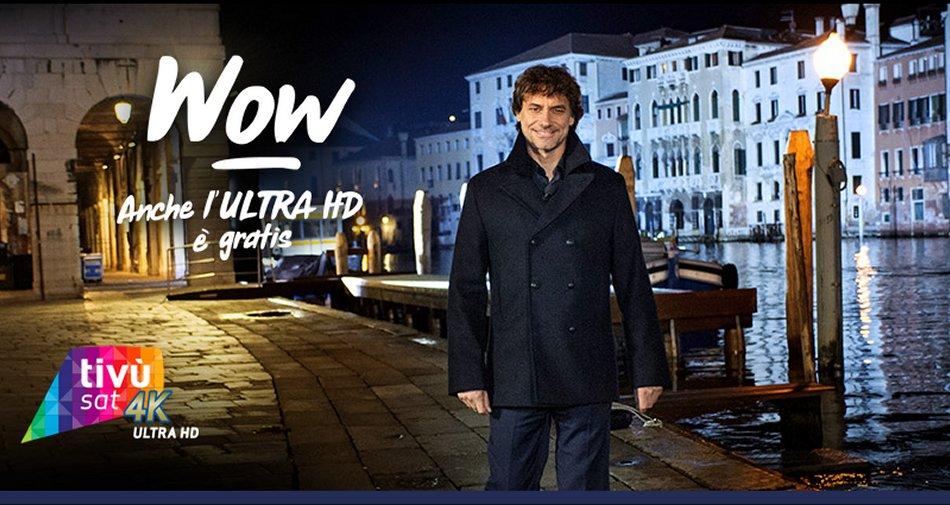 Stanotte a Venezia lunedi 3 Luglio per la prima volta in 4K HDR sul canale 210 Tivùsat