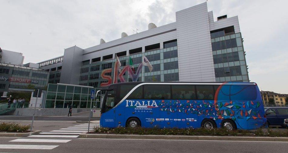 Eurobasket 2017, il lungo sogno azzurro comincia oggi negli studi Sky Sport
