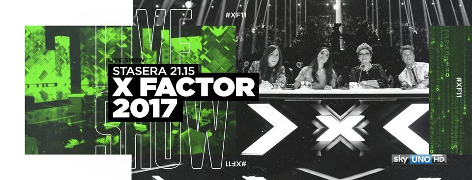 #XF11, la Musica del Terzo Millennio è protagonista del terzo live show su Sky Uno