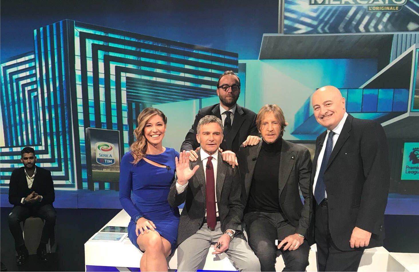 Beppe Marotta (Juventus) ospite della puntata speciale di CalcioMercato su Sky Sport