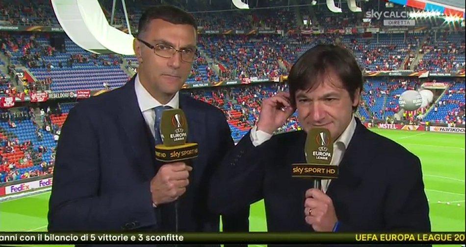 presentazione fabio caressa mondiale calcio sky