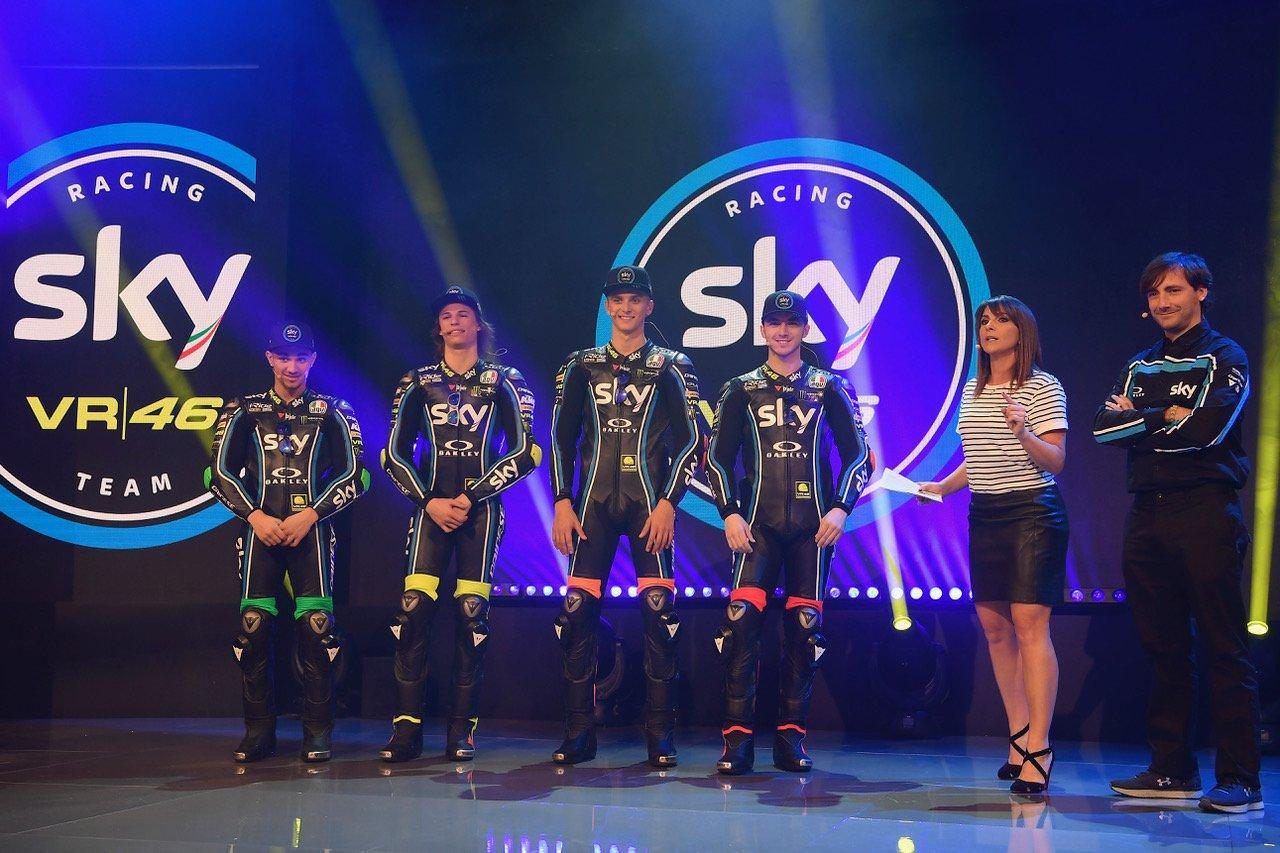 La stagione 2018 dello Sky Racing Team VR46 tra novità e conferme