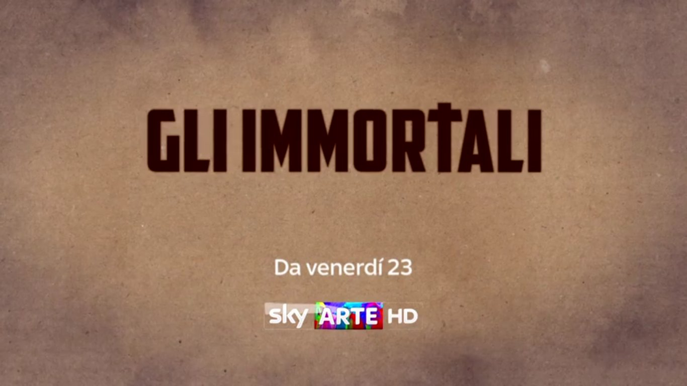 Gli Immortali, il viaggio tra gli artisti di ogni tempo su Sky Arte HD