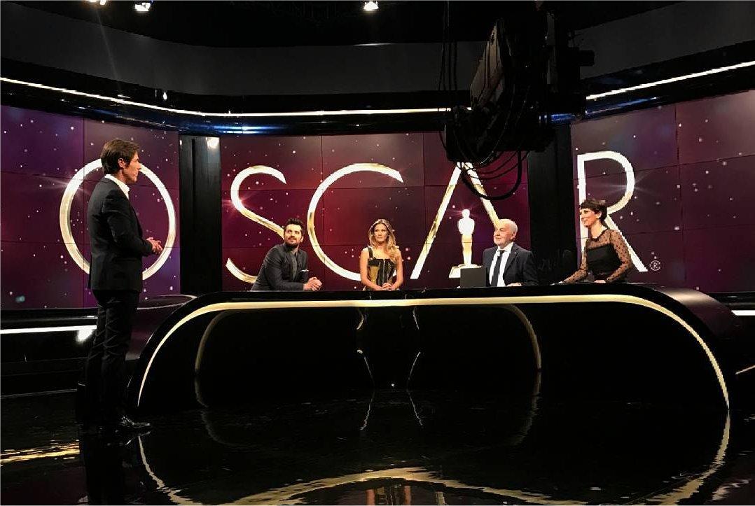 La Notte degli Oscar ® 2018: diretta esclusiva su Sky Cinema HD e in chiaro su Tv8
