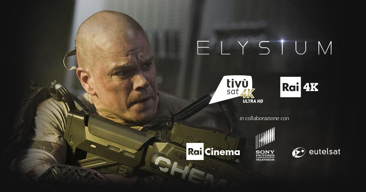 Elysium oggi su Rai 4 anche in Ultra HD su Rai 4K