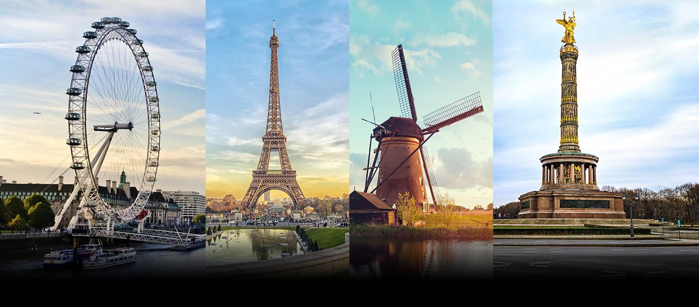 Porta Sky in Europa. Da aprile i programmi che ami viaggiano con te nei Paesi UE
