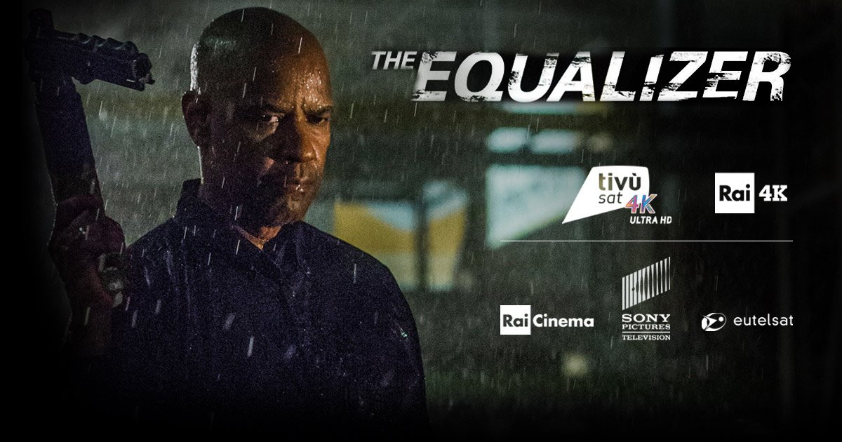The Equalizer - Il Vendicatore, stasera in Ultra HD su Rai 4K (210 TivùSat)