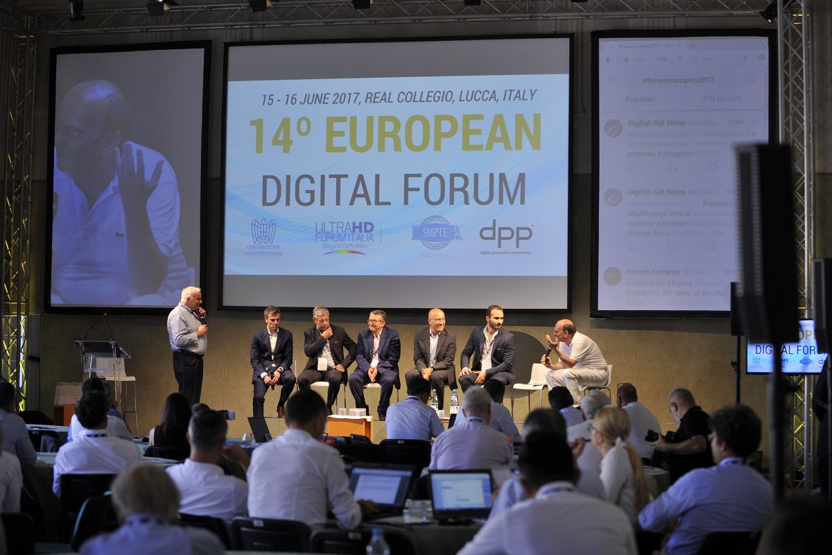 Andrea Michelozzi: «Le nuove sfide digitali al 15 #ForumEuropeo Lucca 2018»
