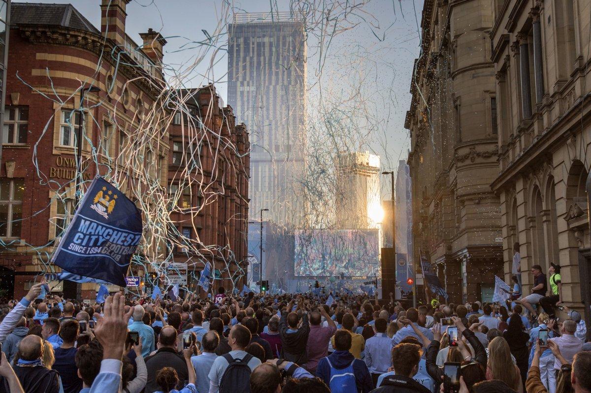 Manchester is Blue, cinque speciali Sky Sport celebrare la stagione del City