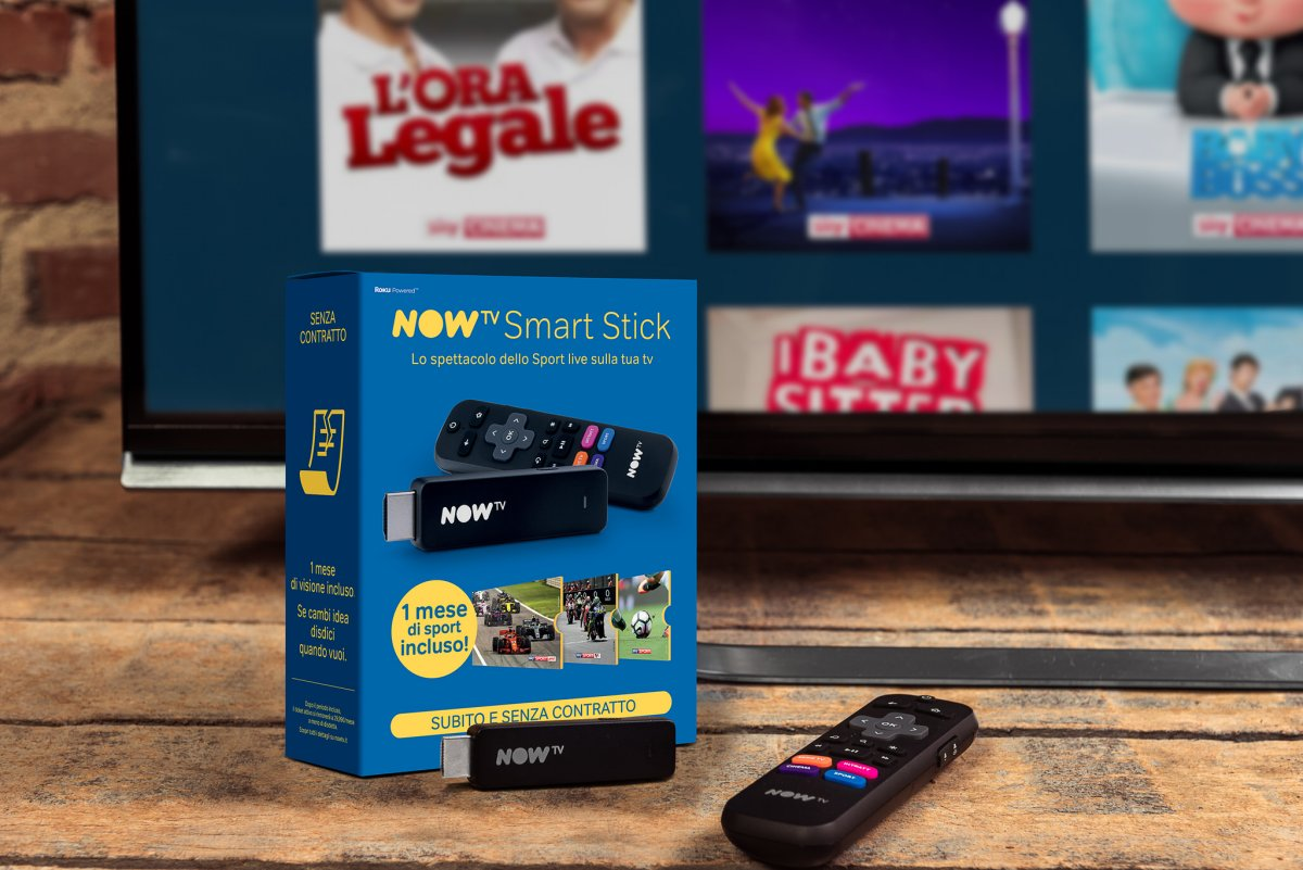 Nasce una nuova NOW TV, migliora esperienza di visione e arriva la Smart Stick