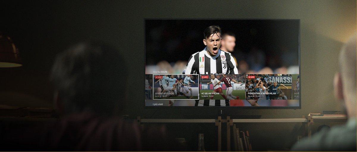 Arriva in Italia DAZN, il nuovo modo di guardare lo sport (e la Serie A)