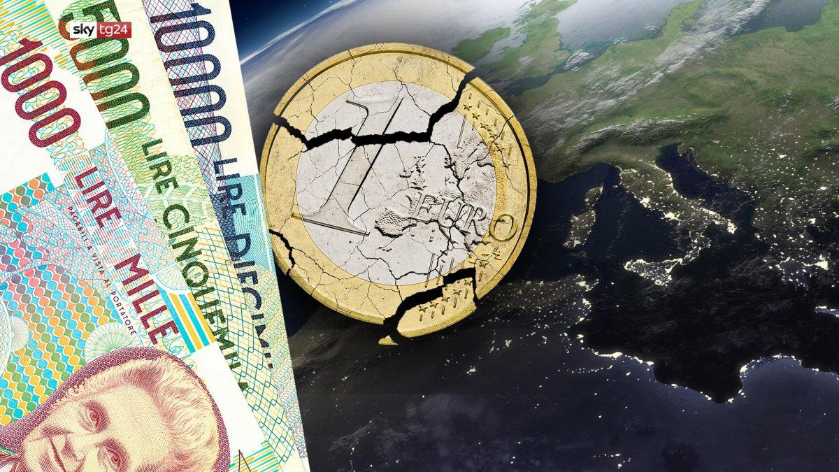 Euro sì, Euro no. La parola agli italiani, speciale stasera su Sky TG24